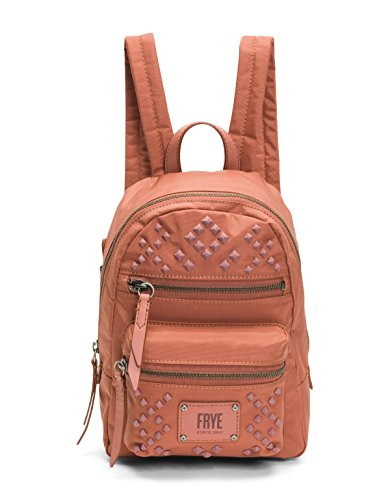 FRYE Damen Stud Backpack Ivy Nylon Mini, Niete, Rucksack, Dusty Rose, Einheitsgröße Frye Rose