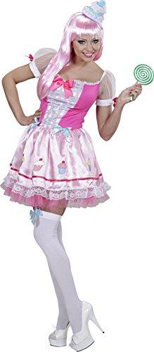 Candy Girl XL Damenkostüm Cupcake rosa-weiss (Girl Cha Kostüme Cha)