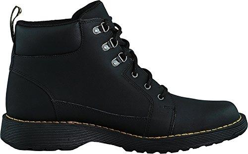 Dr.Martens Mens Trae Peidmont Split Leather Boots Black