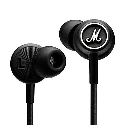 Marshall mode auricolare stereo in-ear con mic e remote control, nero