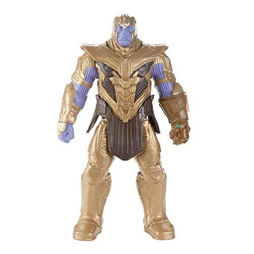 Avengers- Figura Titan Hero Deluxe Movie Thanos, (Hasbro E4018EU4)