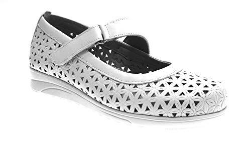 PITILLOS Zapatos CUÑA Calado con Velcro 41
