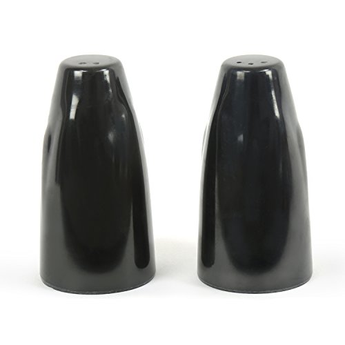 @home by Nilkamal Melamine Glossy BlacK Salt & Pepper Set Pack of 2  available at amazon for Rs.200