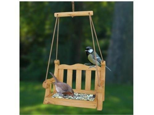 Swing Sitz BIRD FEEDER–Vogel Tisch