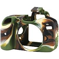 easyCover Custodia silicone per Nikon D3200 Camouflage [JU0470]