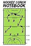 Hockey Coach Notebook: für Hockeyspieler Hockey Coaches oder Icehockey Spieler Geschenk Notizbuch für Aufstellunt Taktiken 120 Seiten A5