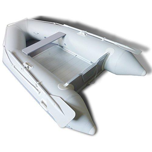 vidaXL ALU-Boden PVC Schlauchboot Sportboot mit Paddel 270x150 cm bis 484 kg 1A