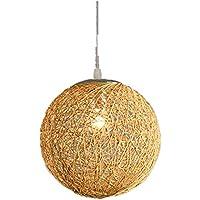 suspension luminaire boule rotin luminaires eclairage. Black Bedroom Furniture Sets. Home Design Ideas