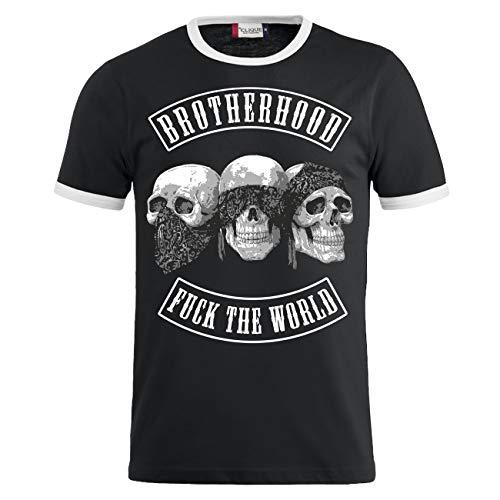 Rap Kostüm Gangsta - Life Is Pain Männer und Herren Tshirt Patch