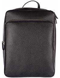 6ca11c8b34352 Prada mochila bolso de hombre en piel nuevo saffiano negro