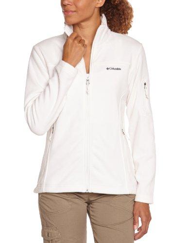columbia-fast-trek-ii-giacca-in-pile-donna-bianco-bianco-125-m