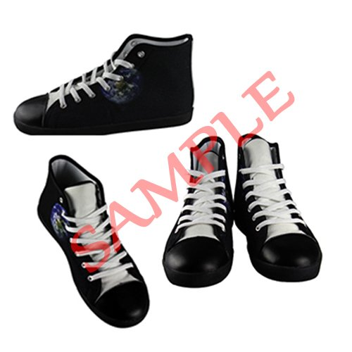 Dalliy eye pattern Men's Canvas shoes Schuhe Lace-up High-top Sneakers Segeltuchschuhe Leinwand-Schuh-Turnschuhe D