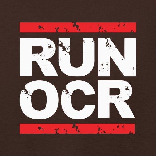 Run OCR - Damen T-Shirt - 14 Farben Dunkles Schokobraun