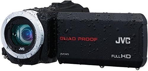 JVC GZ-R15BEU Full HD Speicherkarten-Camcorder (microSD/SDHC/SDXC Speicherkarte, 40-fach optischer Zoom, 1080 pixels, 7,6 cm (3,0 Zoll) Touch-Display, bildstabilisiert) schwarz
