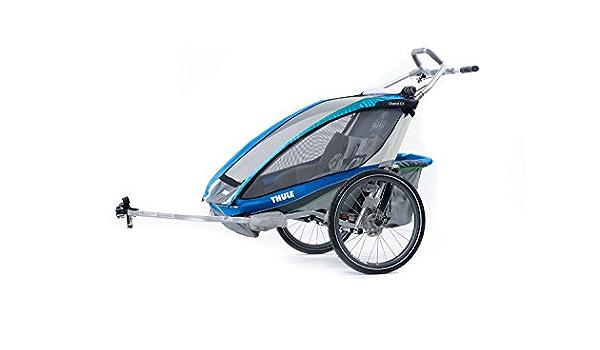 Thule Chariot Cx 2 Bike Set Blue 2017 Bicycle Trailer Baumarkt