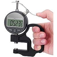 Medidor De Porcentaje De Espesor Electrónico Portátil Pulgada Métrica 0-12.7Mm Medidor De Espesor Digital Con Pantalla LCD Precisa