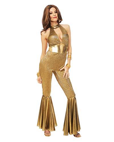70er Jahre Disco Diva Kostüm für Fasching & Mottoparty L ()