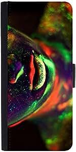 Snoogg Neon Lips 2492 Designer Protective Flip Case Cover For Xiaomi Mi 3