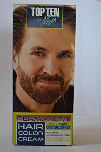 TOP-TEN-for-MenPermanent-color-cream-for-hairbeard-and-moustache-06-BLOND-Effect-visible-after-10-min