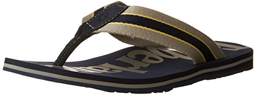 TIMBERLAND - Herren Zehentrenner - Wild Dunes - Blau/Grau Schuhe in Übergrößen Black Iris