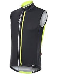 Santini Airform 2.0, Camiseta sbracciata cortavientos para hombre, Hombre, Airform 2.0, amarillo, 4XL