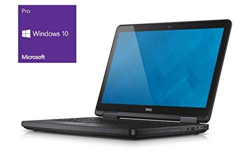 DELL E5540NOTEBOOK | 15.6pollici Full HD Display | Intel Core i5-4310U @ 2,0GHz | 8GB DDR3RAM | 250GB SSD | Masterizzatore DVD | Windows 10Pro preinstallato (certificata e General Rigenerato)