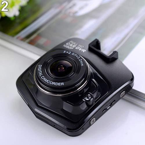 nieliangw0q Mini-Auto-DVR-Videokamera-Recorder mit Full HD-Camcorder Nachtsicht - Schwarz -