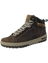 CAT zapatos de Caterpillar Apa HI Oscuro Beige Café P711589