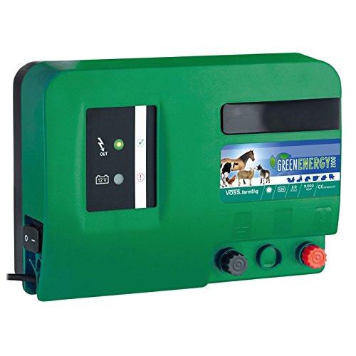 12V 230V GREEN Weidezaungerät Weidezaun Netzgerät Elektrozaungerät Batteriegerät
