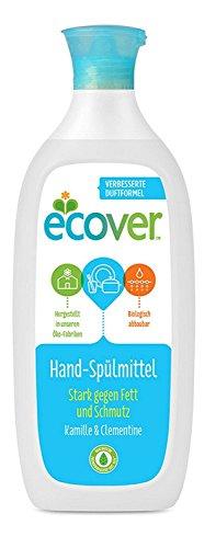 Ecover Ökologisches Geschirrspülmittel Kamille und Clementine , 6er Pack (6 x 1 l) Ecover Geschirrspülmittel