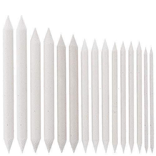 Ideen mit Herz Estompen   Papierwischer   15er-Set   7 verschiedene Größen: Ø 4mm   6mm   7mm   8mm   10mm   12mm