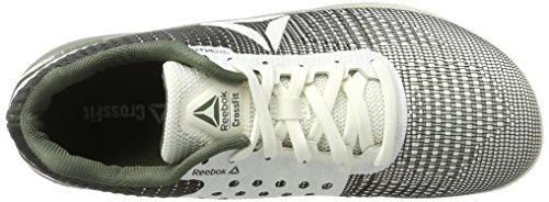 Reebok R Crossfit Nano 7, Chaussures de Running Homme Beige (Chalk/hunter Green)