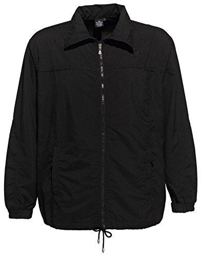 Acero fitness giacca nero 3xl 60/62