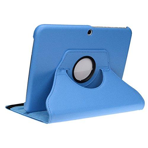 doupi Deluxe Custodia per Samsung Galaxy Note PRO (12,2 Pollici), 360 Gradi Rotable Protezione con Etui Stare in Piedi Protettiva, Blue