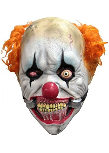 Kinder Größe Deluxe Smiley Killer Clownsmaske