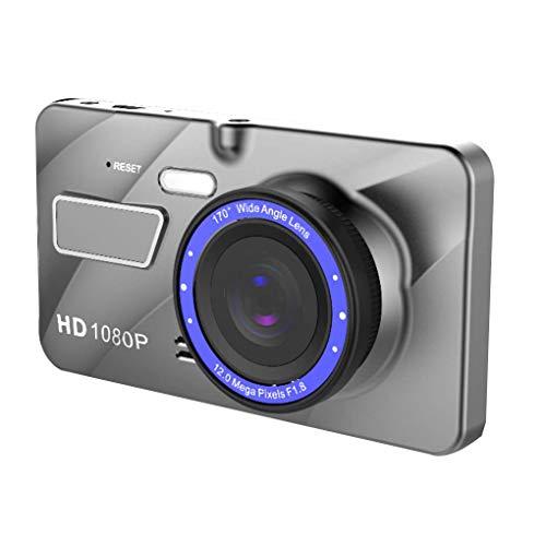Busirde Dash Cam Auto dvr Doppelobjektiv-Kamera-Auto-Video Full HD 1080p 4