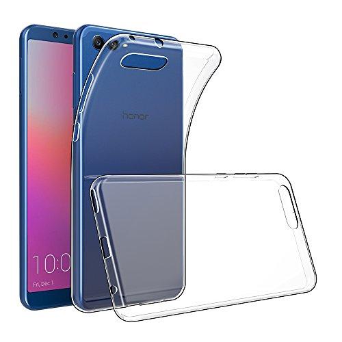 GeeRic Für Huawei Honor View 10 Hülle Silikon, Ultra Thin Tasche Cover Schlank Weich Flexibel Anti-Kratzer Schutzhülle Abdeckung Case Transparent für Huawei Honor View 10