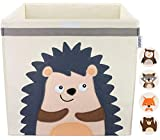 GLÜCKSWOLKE Caja Almacenaje Infantiles - Motivo Erizo I Baules Juguetes I Cubos Organizador (33x33x33) Cuarto de Niños I Contenedor Habitacion Niñas I Cesto Dormitorio Bebe