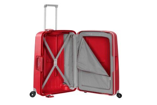 Samsonite Suitcase, 69 cm, 79 Liters, Crimson Red