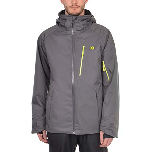 Völkl Herren Funktions Ski Jacke Team Premium Iron Grey 70012101 Größe 3XL -
