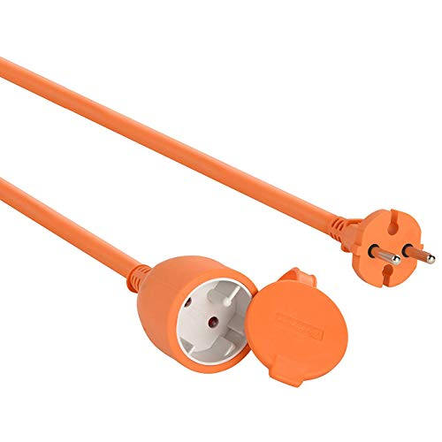 Electraline 101540 Cable alargador eléctrico jardín