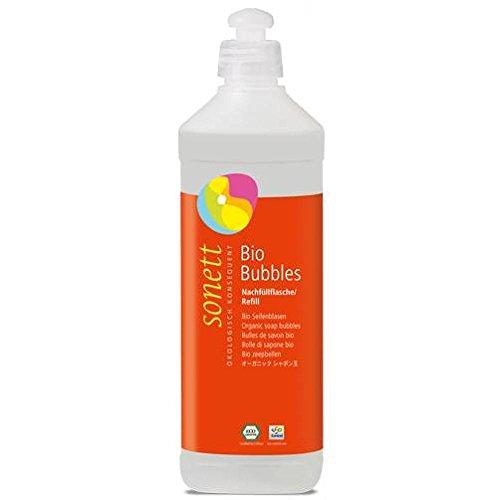 Sonett Bio Bubbles Seifenblasen, 500 ml