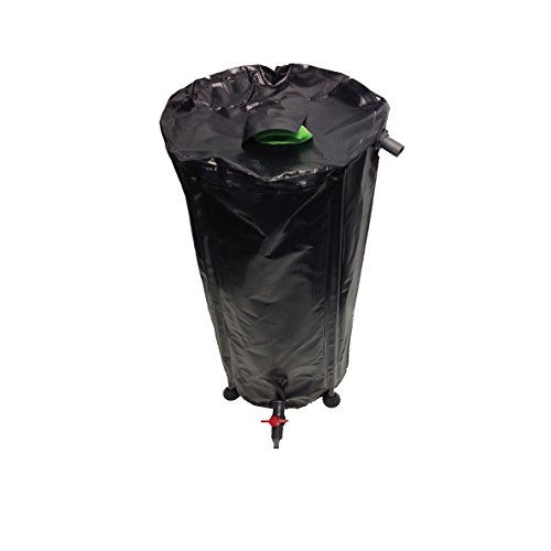 100L Liter Hydrokultur Flexi klappbar Tank hochklappen Wasser Butt Aufbewahrung-IWS (Liter-tank 100)