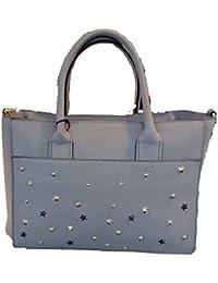 088b1808ae4f5 Kocca Borsa a mano spalla donna con borchie LADISLA Bag Grey