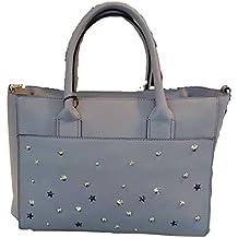Kocca Borsa a mano spalla donna con borchie LADISLA Bag Grey 61adc6bbe72