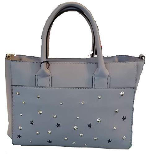 Kocca Borsa a mano spalla donna con borchie LADISLA Bag Grey