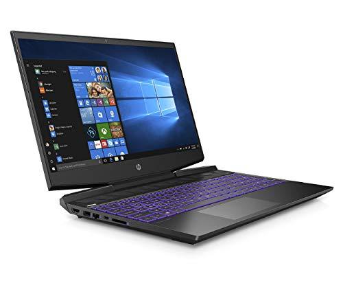 HP Pavilion 15-dk0045TX 2019 15.6-inch Gaming Laptop (ninth Gen Core i5-9300H/8GB/1TB HDD + 256GB SSD/Windows 10/4GB NVIDIA GTX 1050 Graphics), Shadow Black Image 3