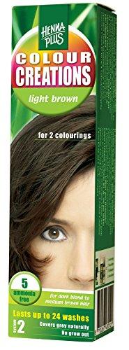 Hennaplus 43012 Colour Creations 5 light brown -