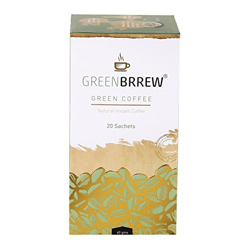 Greenbrrew Natural Instant Green Coffee For Weight Loss - 20...