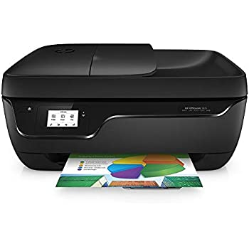 897cf0a4e2 HP OfficeJet 3831 K7V45B Stampante Multifunzione a Getto di Inchiostro,  Stampa, Scannerizza, Fotocopia